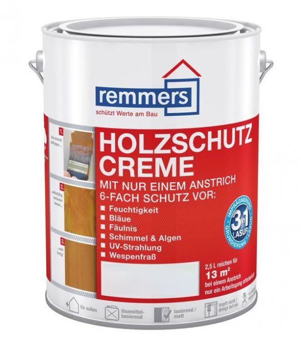 farben kochem online shop remmers holzschutz creme 5 liter. Black Bedroom Furniture Sets. Home Design Ideas